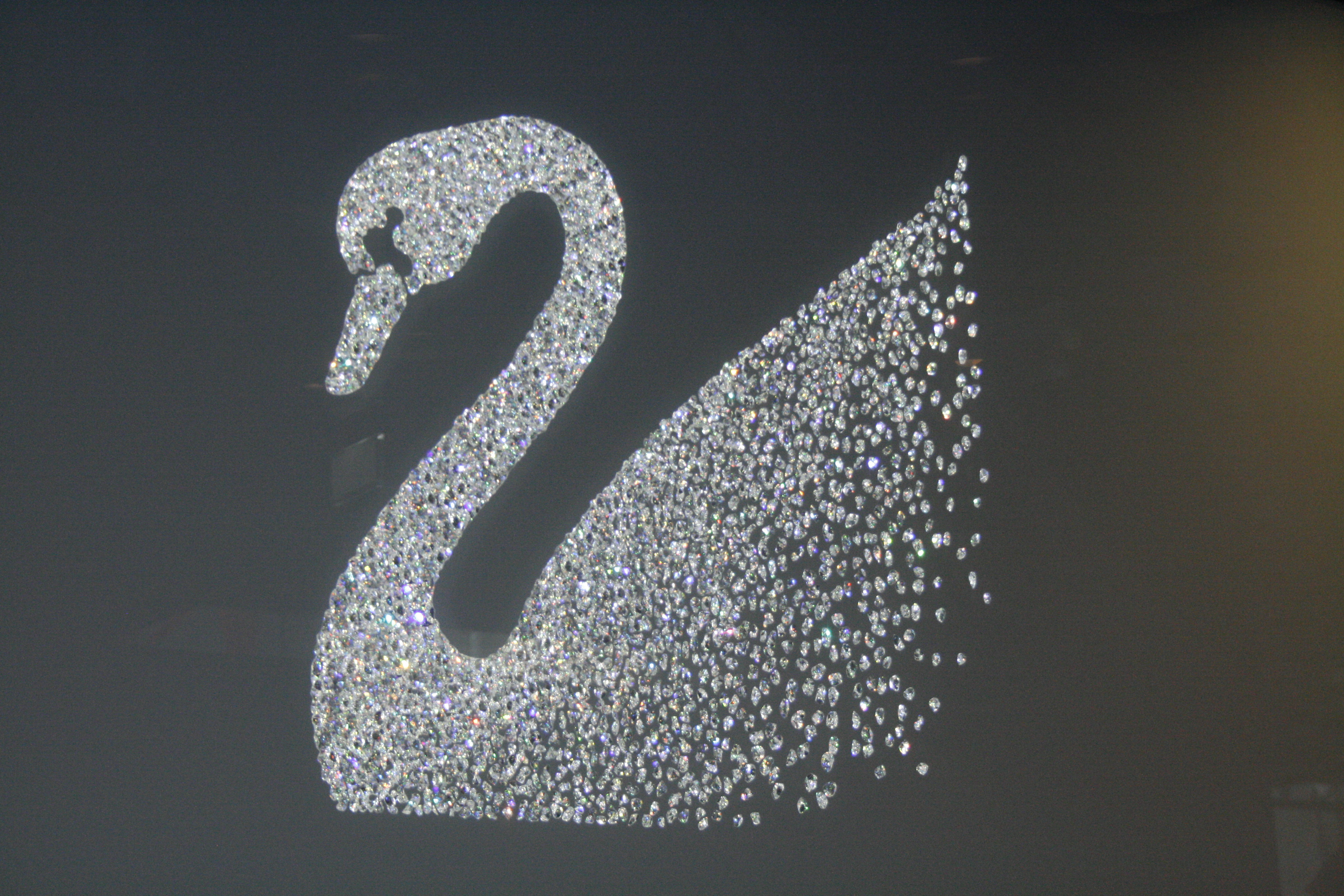 The Swarovski swan - still a symbol of exclusiveness?